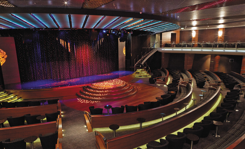 Theather op cruiseschip Seven Seas Mariner