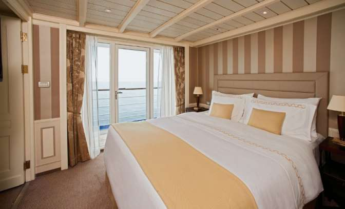 Een suite op de Silver Cloud expedition