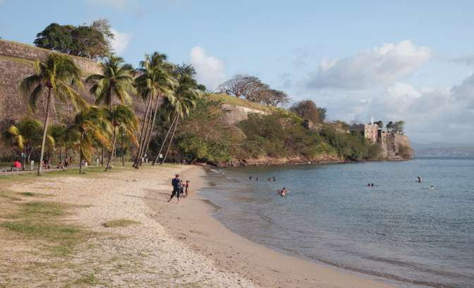 Fort de France op Martinique